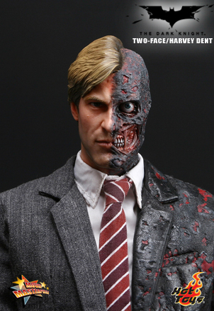 hot toys 12 inch movie masterpiece twoface harvey dent