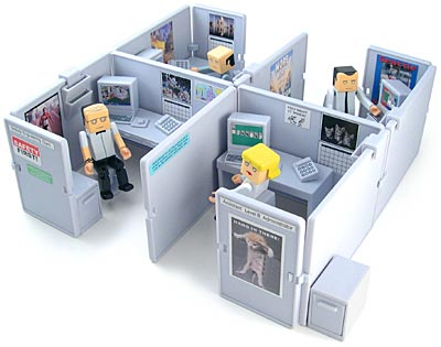 The Cubes Cubicle Playsets The Toyark News