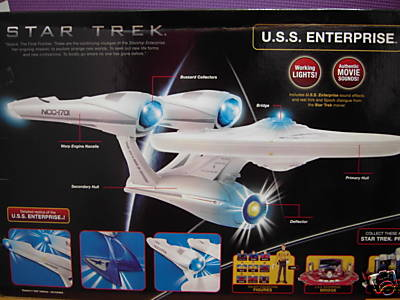 Star Trek Movie USS Enterprise Vehicle MISB
