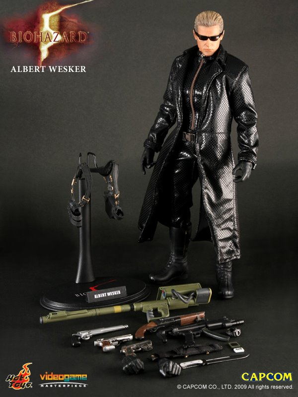 Hot Toys Albert Wesker 39