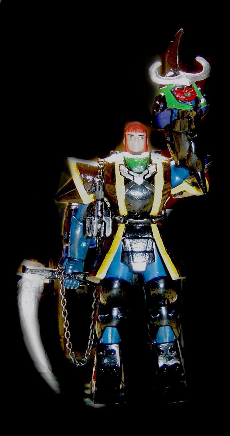 Custom of the day custom ronin warriors the toyark news - Ronin warriors warlords ...