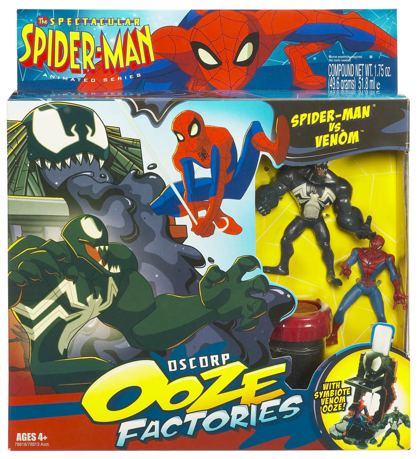 Spectacular Spider Man Venom Toy And Spectacular Spider Man