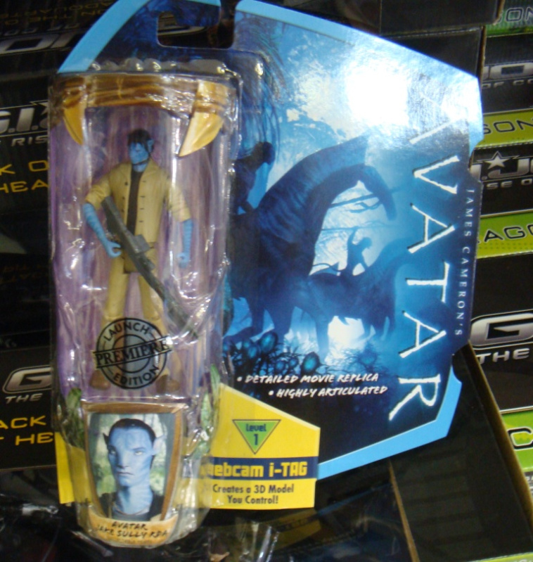 Avatar Toys: Avatar Toys Released At Retail