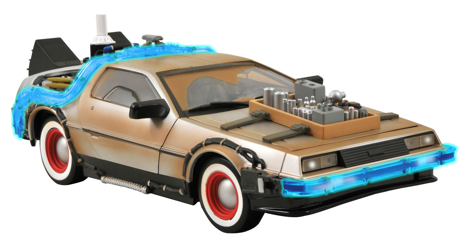 Back To The Future 3 DeLorean Photos - The Toyark - News