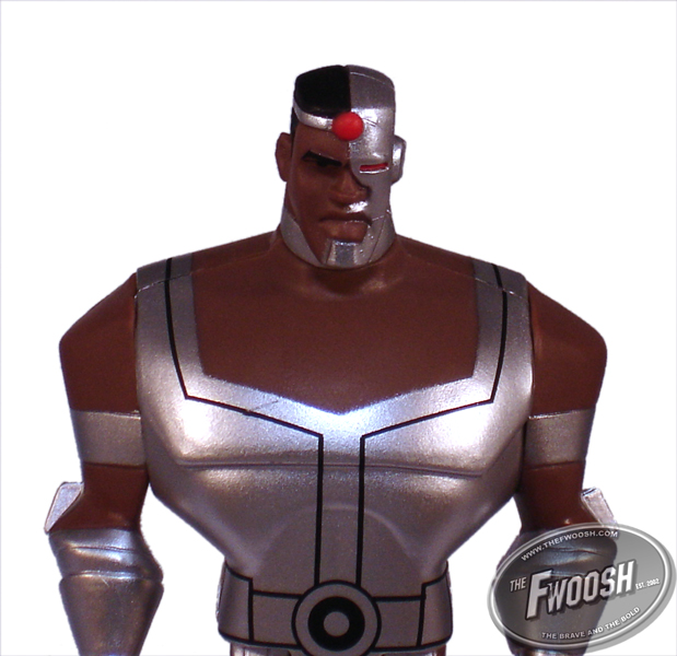 Upcoming JLU Fan Collection Justice League Unlimited Cyborg