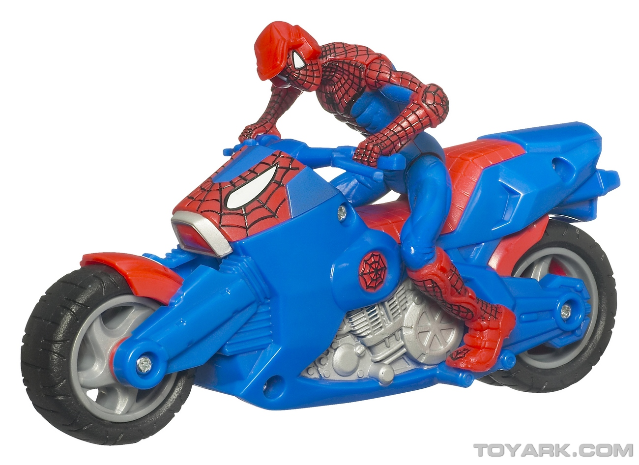 Official photos for spider man toys from toy fair 2010 - Spider man moto ...