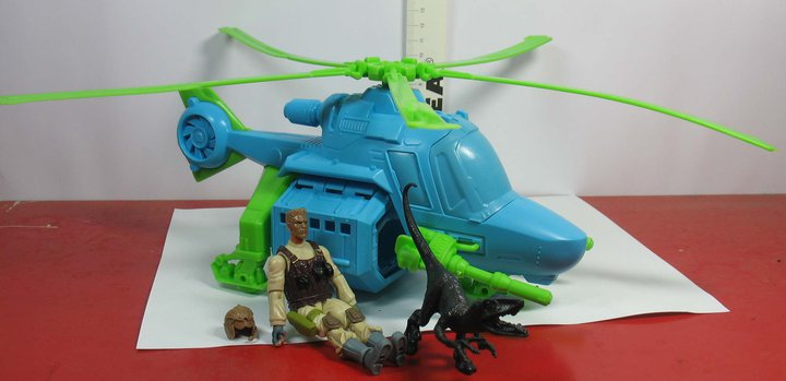 New Helicopter And Gi Joe Pilot For Jurassic Park Emerge The