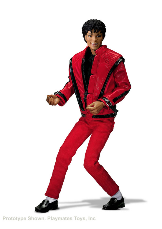 Press release michael jackson toys from playmates the for Jackson toys