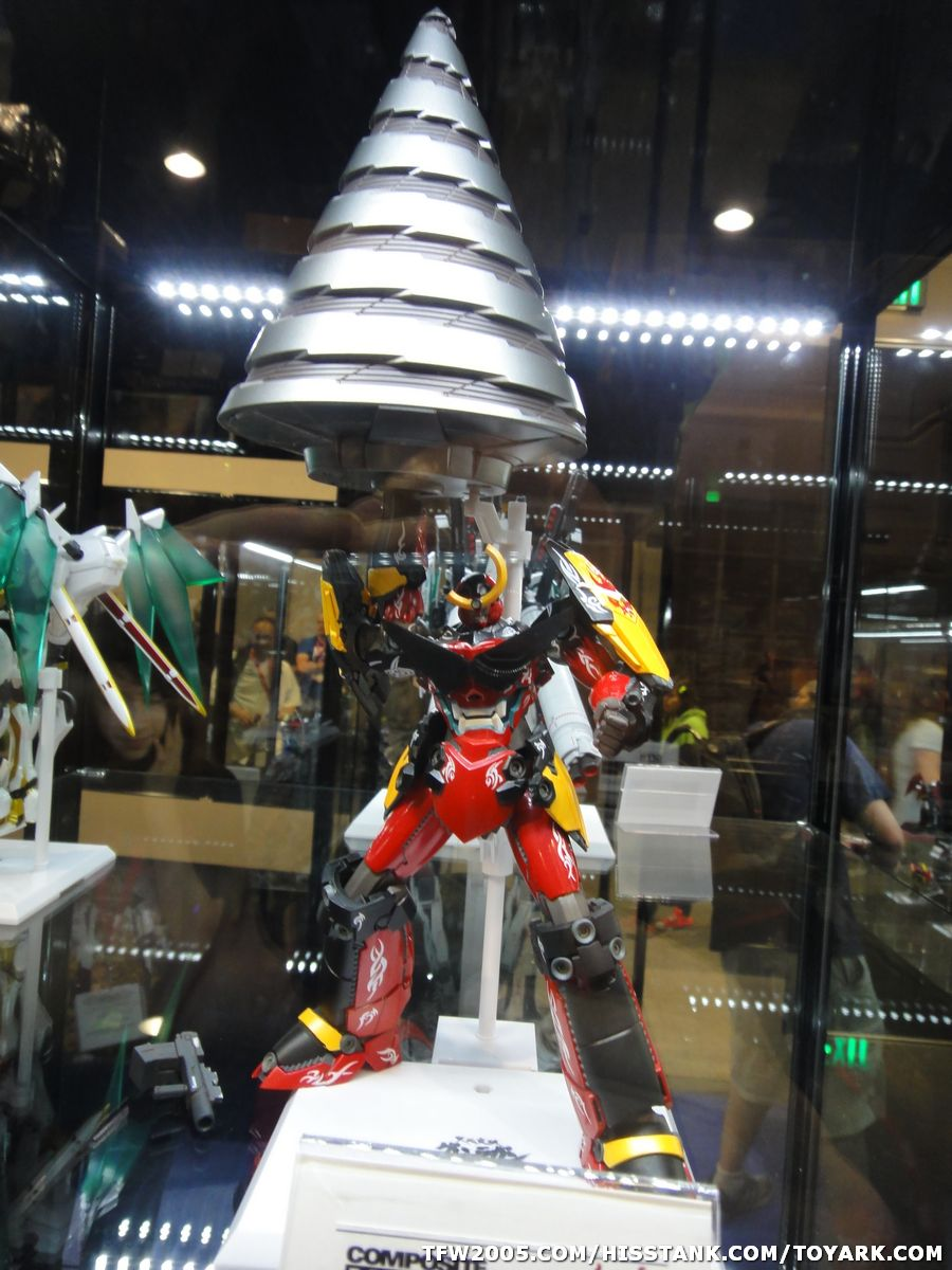 Exhibition Stand Gimmicks : Sdcc bandai chogokin display the toyark news