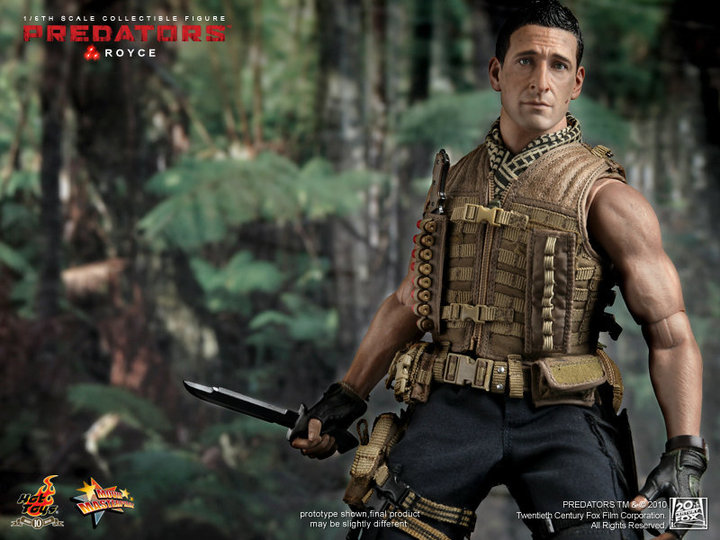 Hot Toys Predators Royce 1/6 - photo and video review
