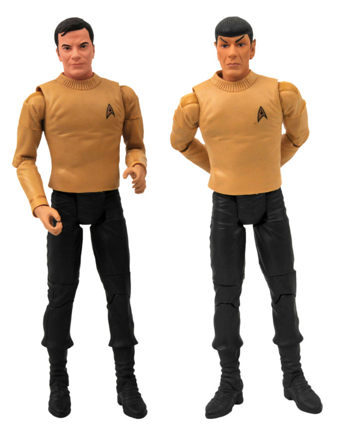 Star-Trek-Pilot-Kirk--Spock-Action-Figure-Two-Pack