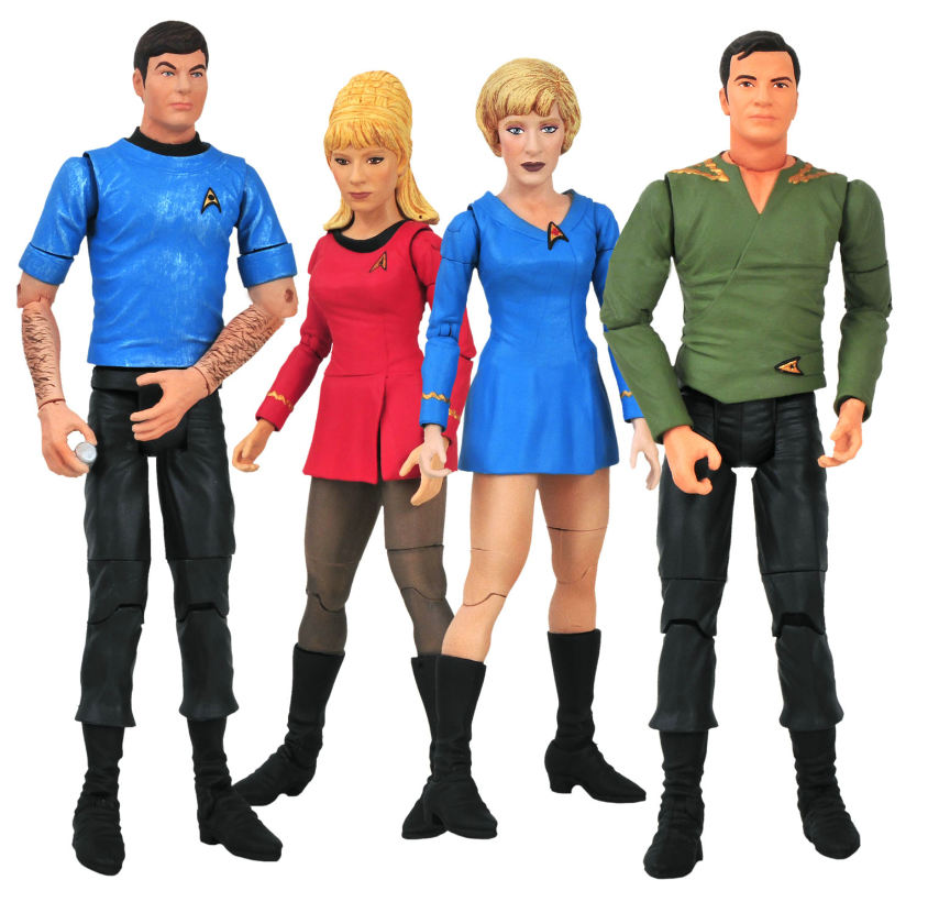 Star-Trek-TOS-Series-5-Action-Figure-Set