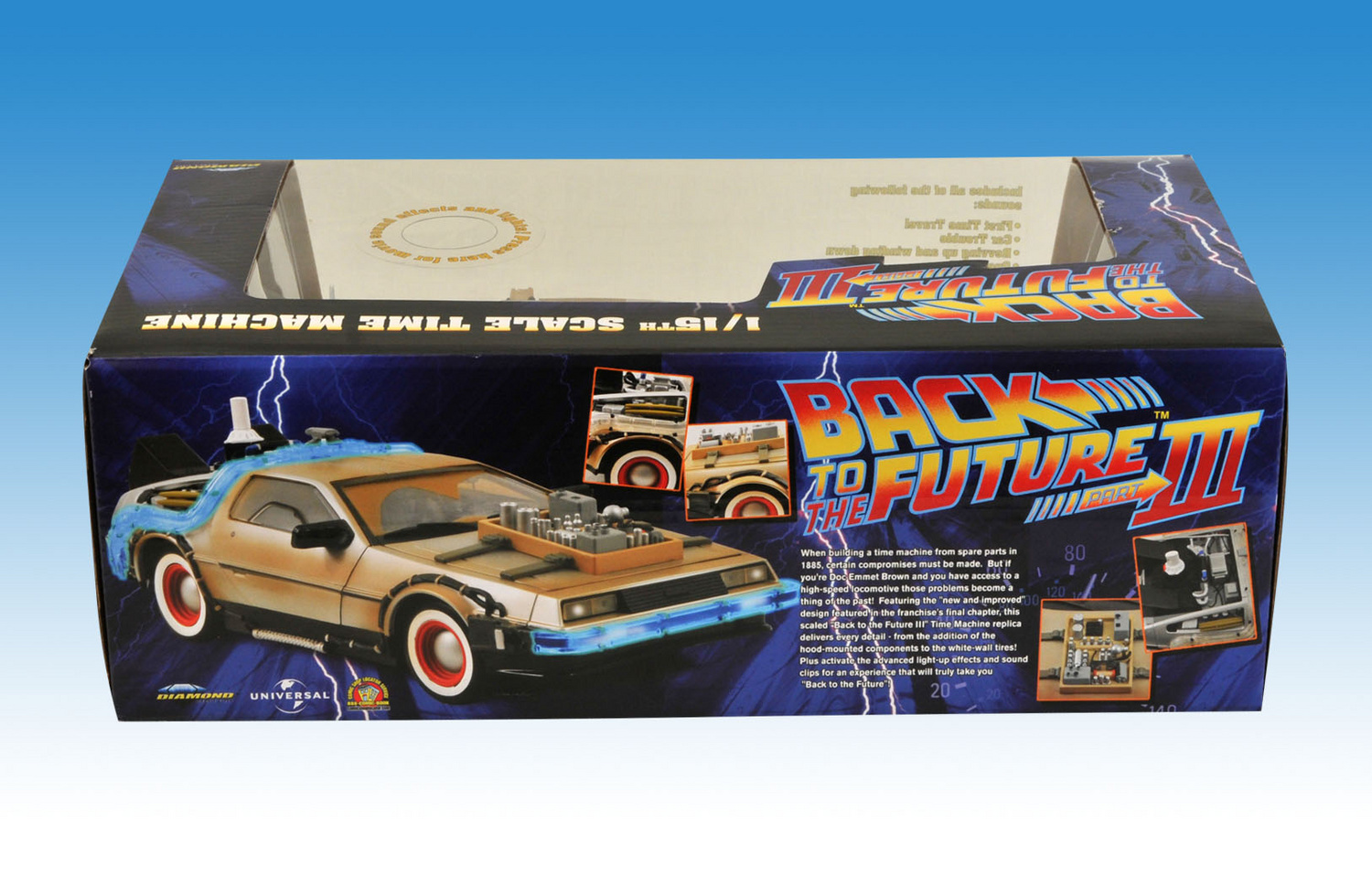 Back To The Future 3 Western Style Delorean - The Toyark ...