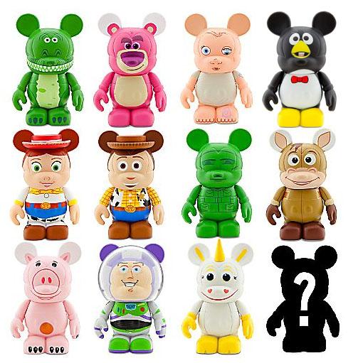 Toy Story 3 Disney Vinylmation Figures The Toyark News