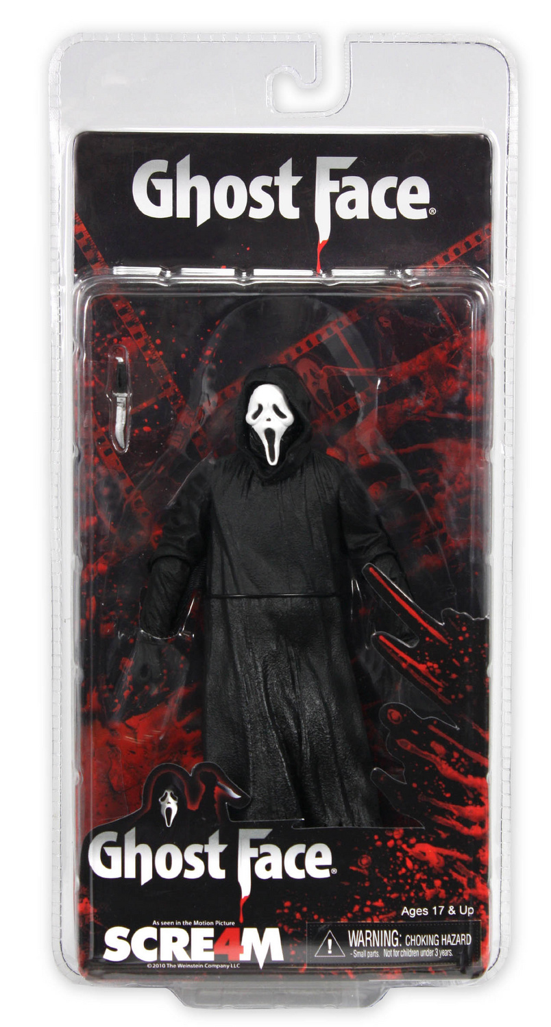 NECA Ghost Face Running Change In Package - The Toyark - News