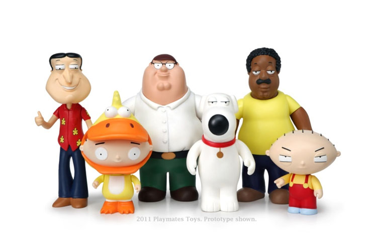 Cleveland Family Guy Toys : Family guys toys announced by playmates the toyark news