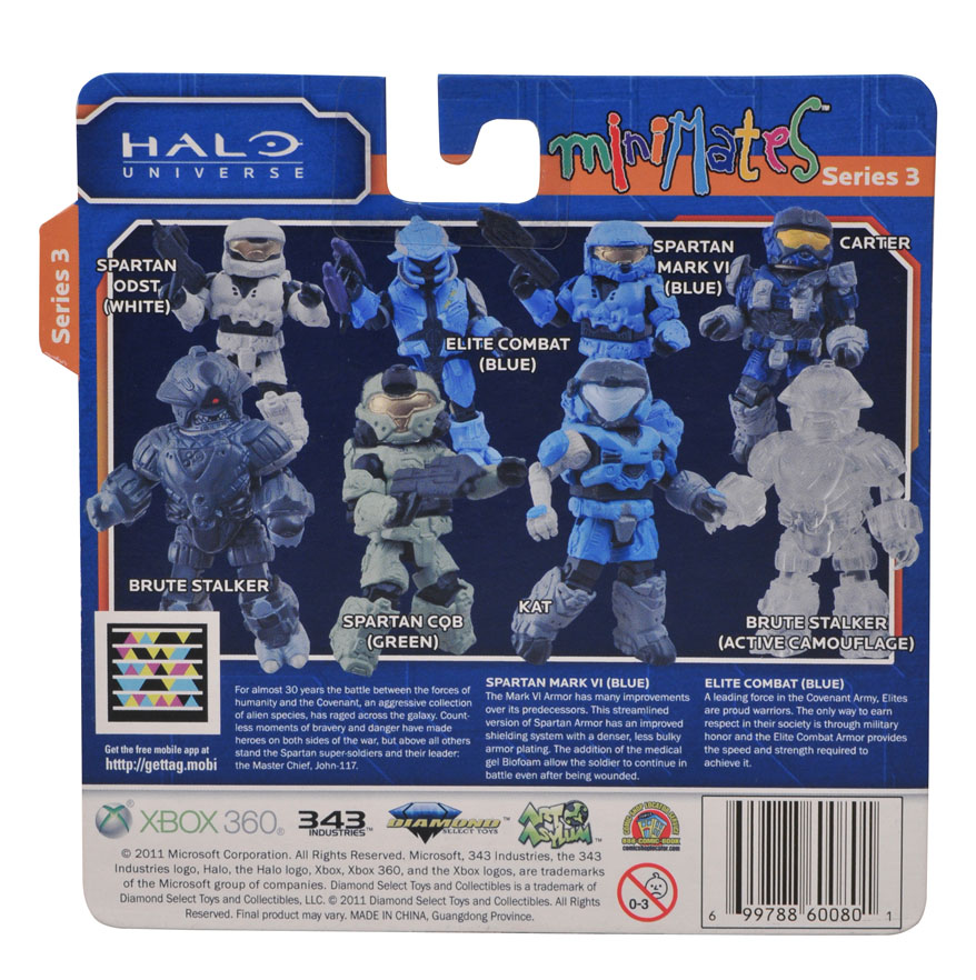 Halo Minimates Series 3 Halo Minimates Series 3 Rear