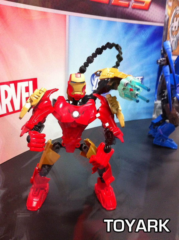 Sdcc lego heroes marvel and dc universe