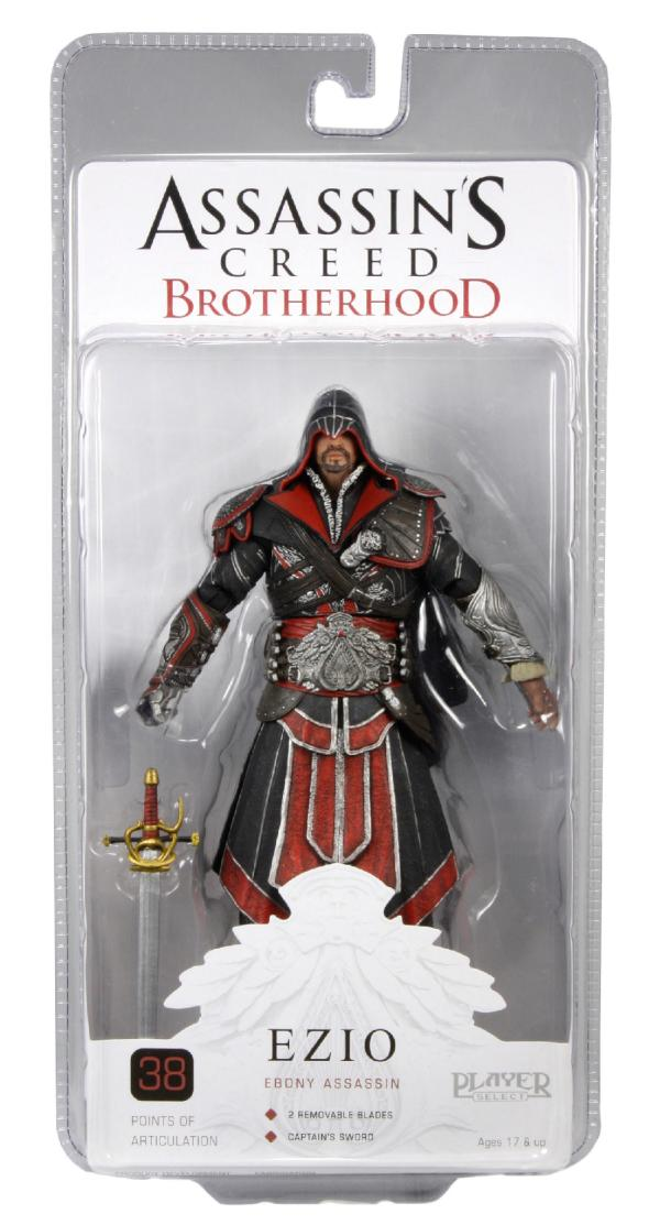 Ezio Brotherhood http://news.toyark.com/2011/08/26/assassins-creed-brotherhood-ezio-in-package-photo-4676
