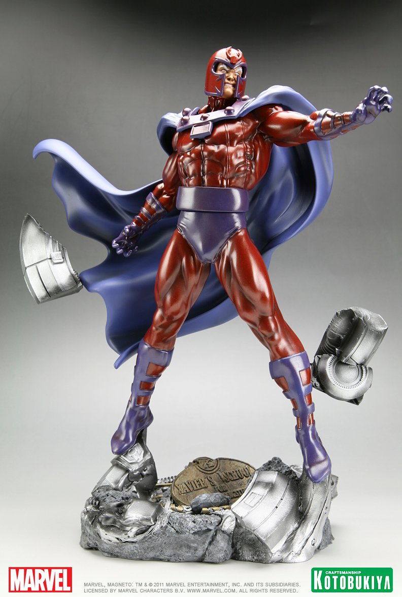 Kotobukiya Magneto Fine Art Statue The Toyark News