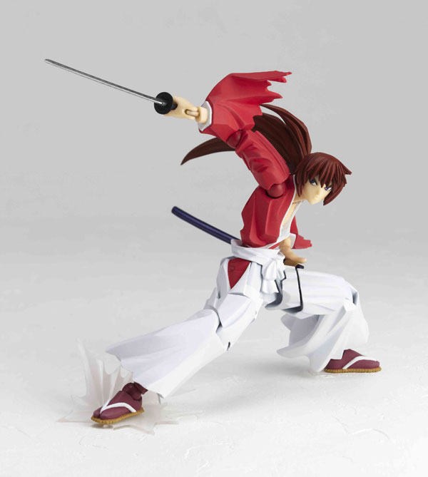 Revoltech Kenshin Himura Blue And Red Versions