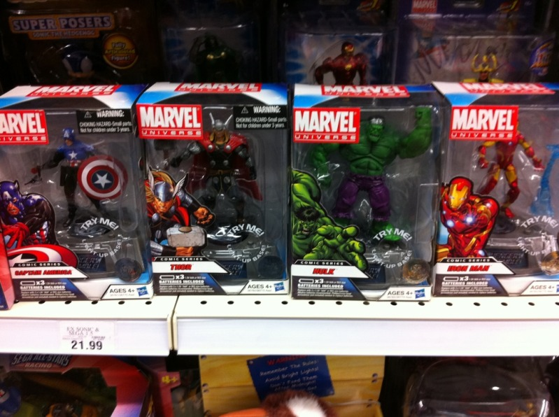 Marvel Toys R Us : Marvel universe avengers assemble at toys r us the