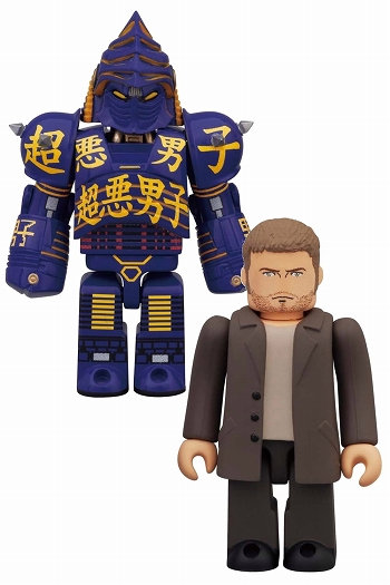 real steel kubricks noisy boy and charlie the toyark news