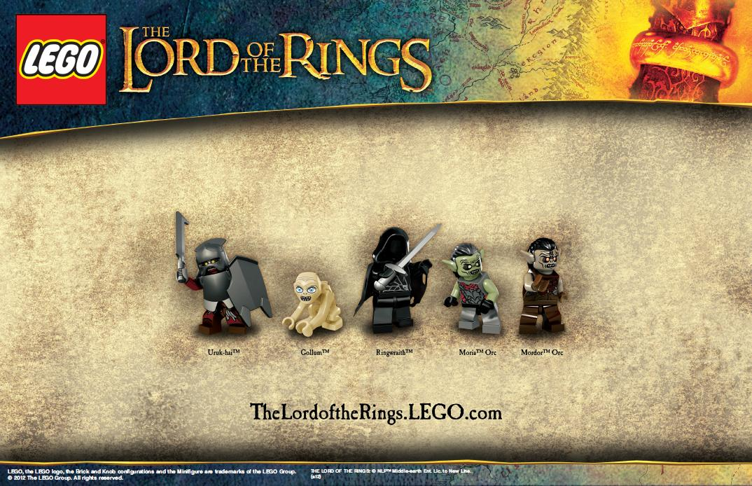 lego lord of the rings - photo #25