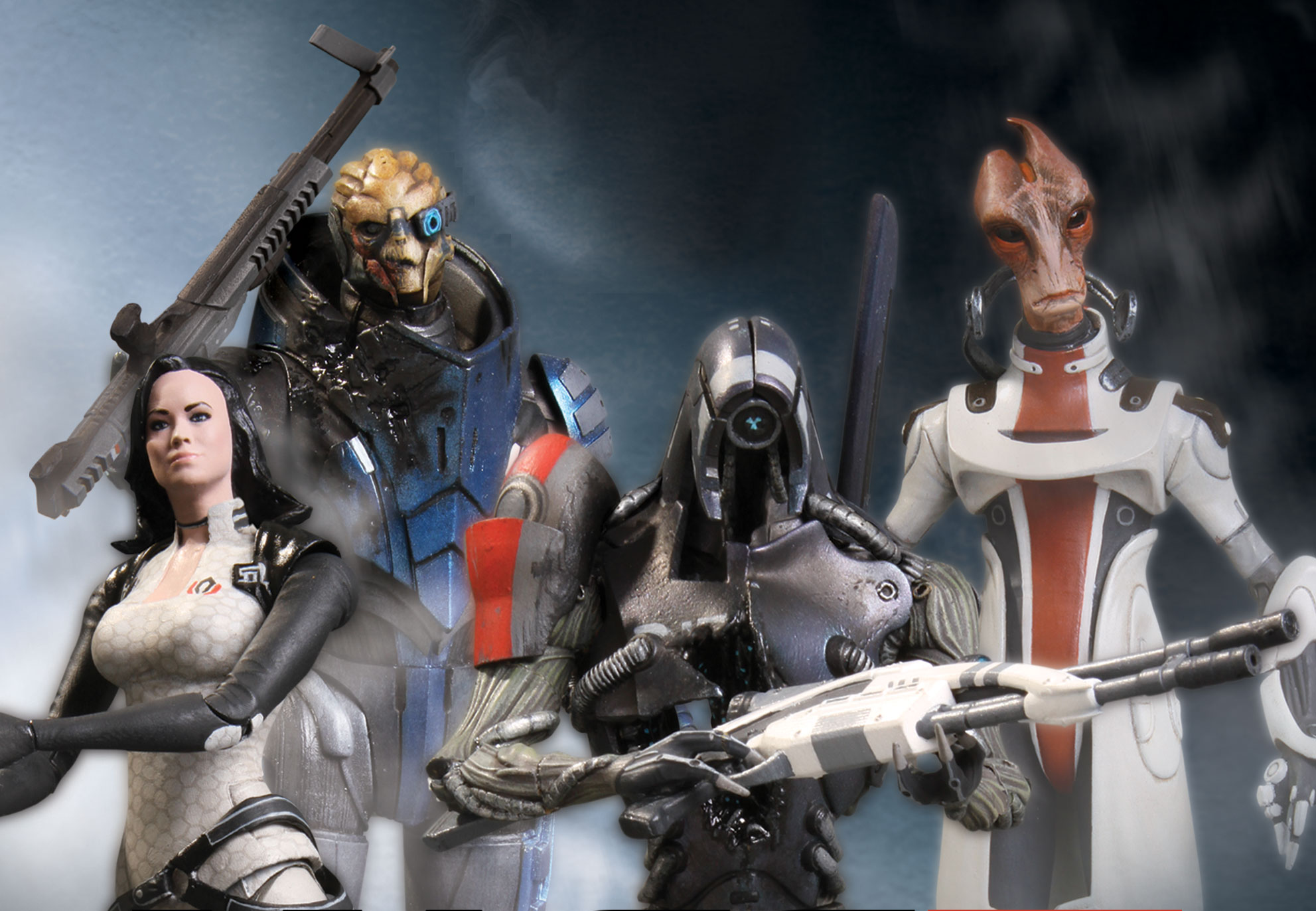 large photos of mass effect toys and info from big fish the toyark