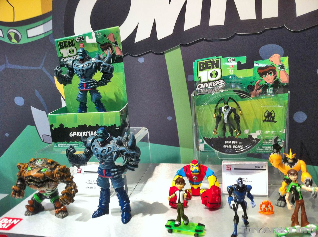Toy Fair 2012 Ben 10 Omniverse 0002