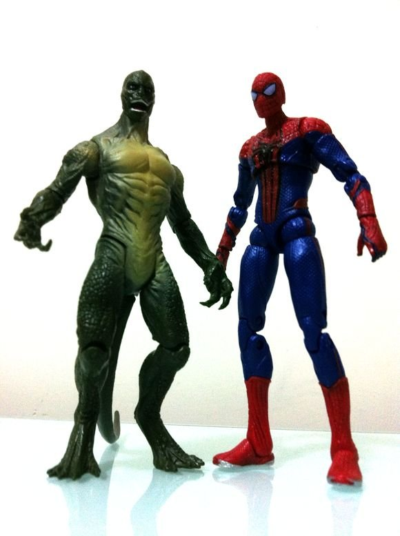 "MARVEL SPIDER-MAN THE LIZARD 3.75/"" ACTION FIGURE"