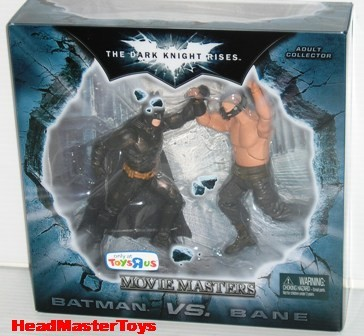 """The Dark Knight Rises Toys - movie master, deluxe, 4"""", vehicles etc... Dark-Knight-Movie-Masters-Batman-VS-Bane-2-Pack-01_1338080897"""
