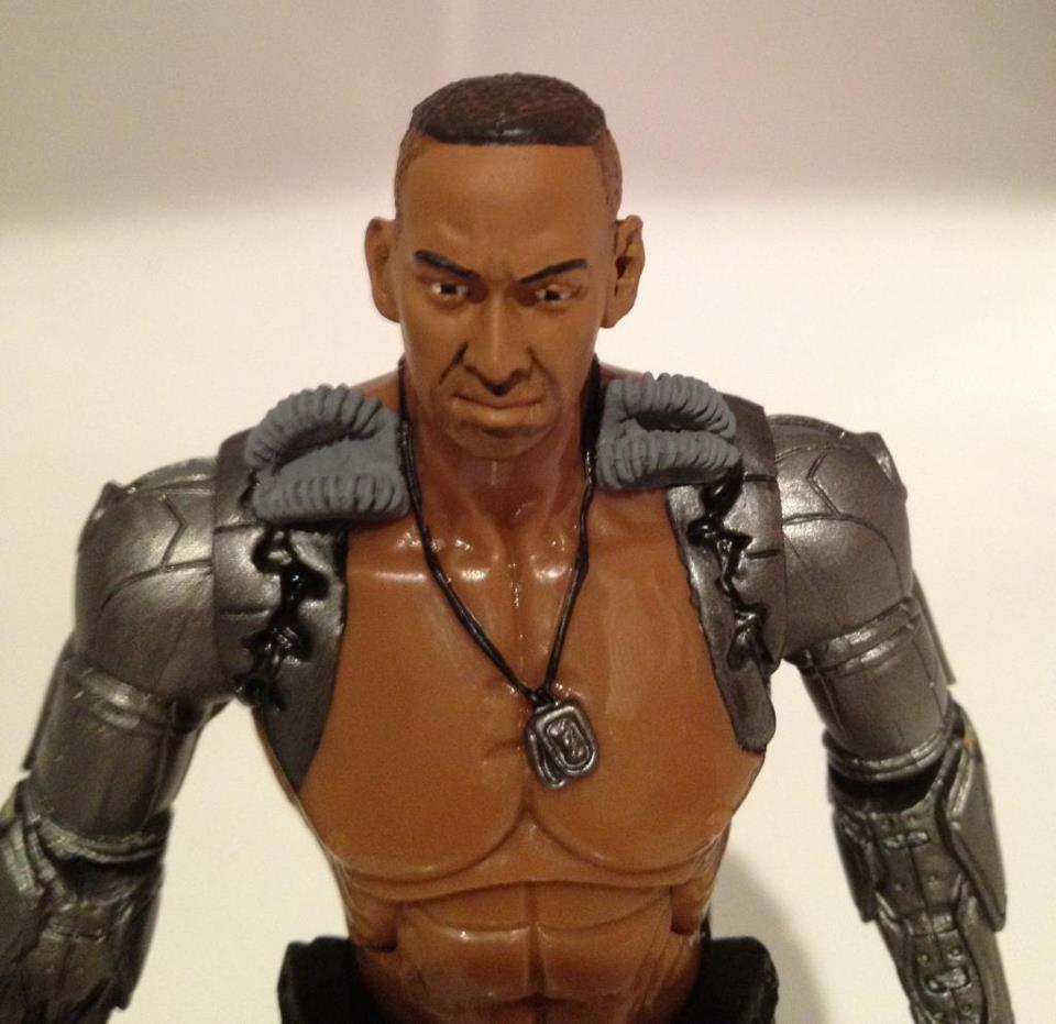 Preview of mortal kombat 6 inch jax figure the toyark news for Three jackson toy