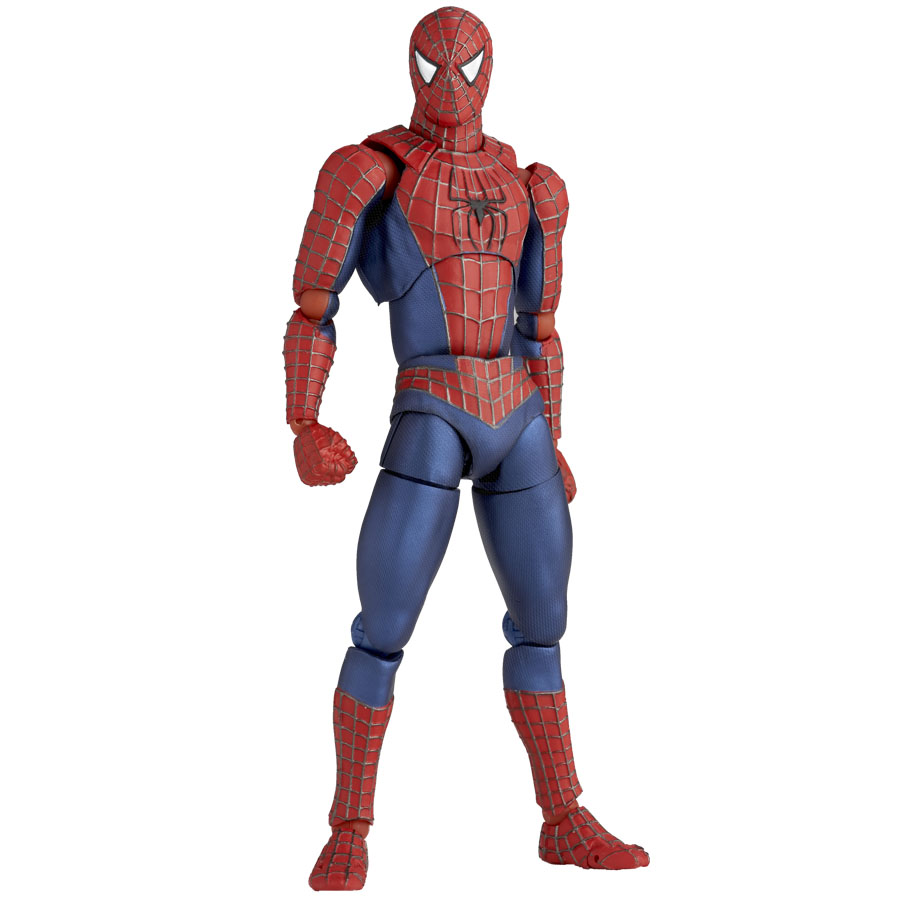 Spider Man Toys : Revoltech spider man new images and info the toyark news