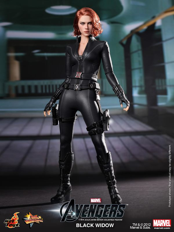 avengers movie black widow by hot toys the toyark news