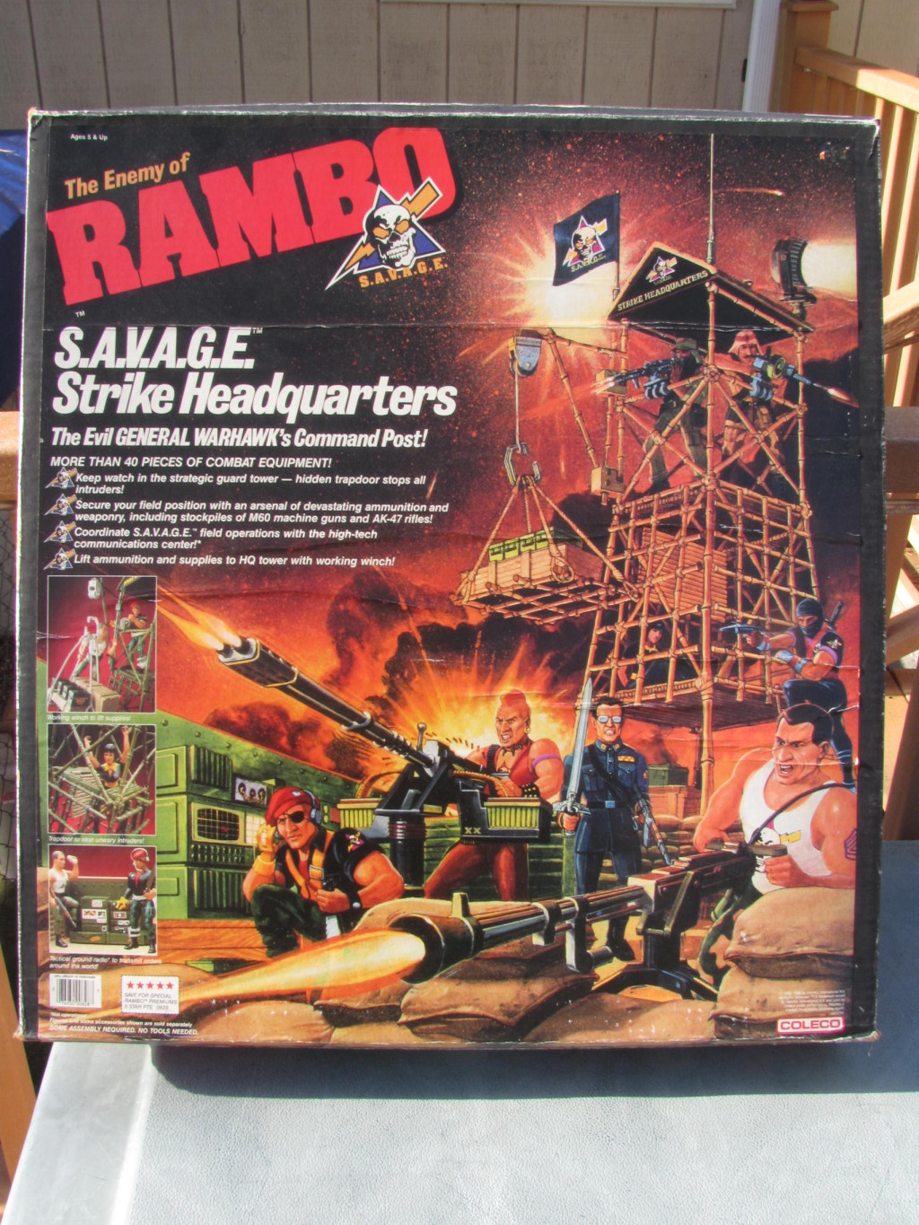 Featured Ebay Auctions Chuck Norris Vs Rambo Toys The