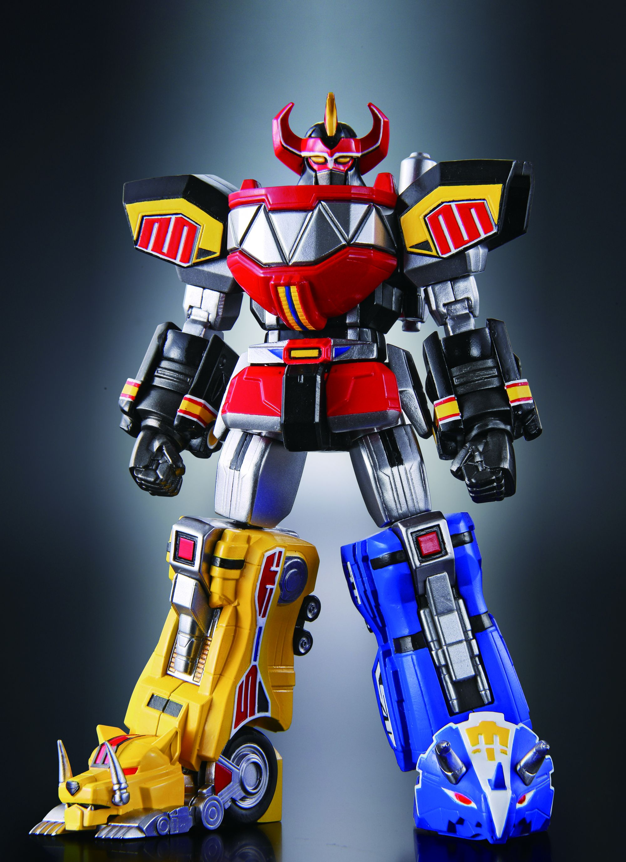 new pics and info for super robot chogokin megazord the. Black Bedroom Furniture Sets. Home Design Ideas