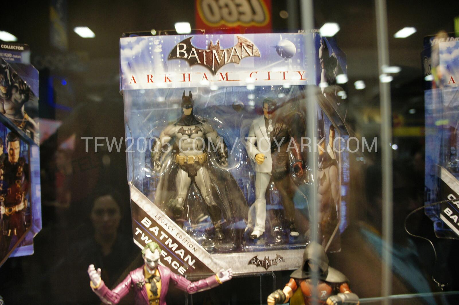 SDCC 12 - Batman Arkham City Toys - The Toyark - News