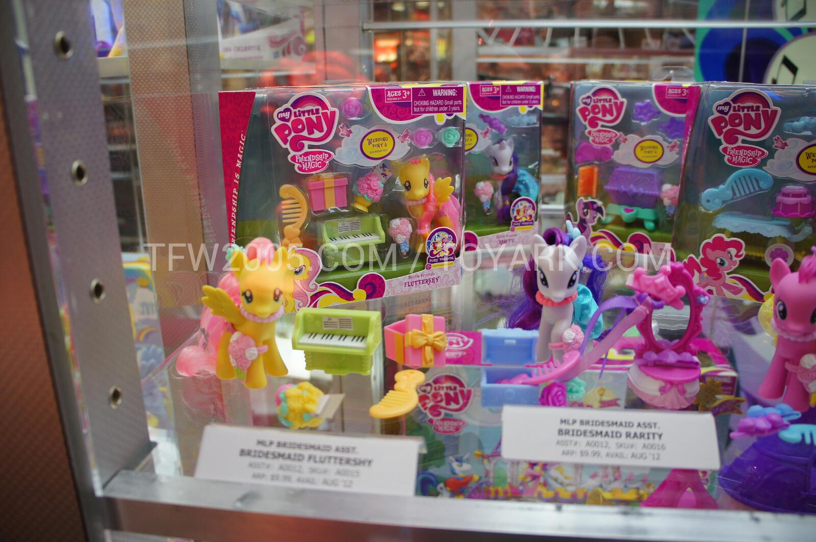 sdcc 2012 jem and my little pony displays the toyark news