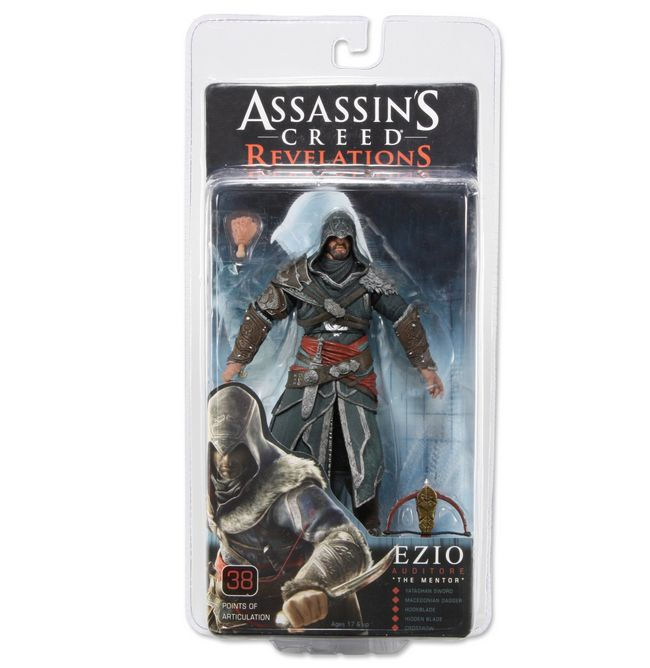 NECA's Assassin's Creed: Revelations Ezio Auditore - The Toyark ...
