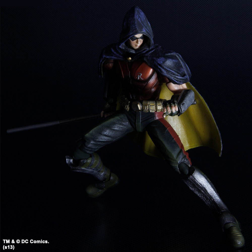 Play Arts Kai Arkham City Batman and Robin Images