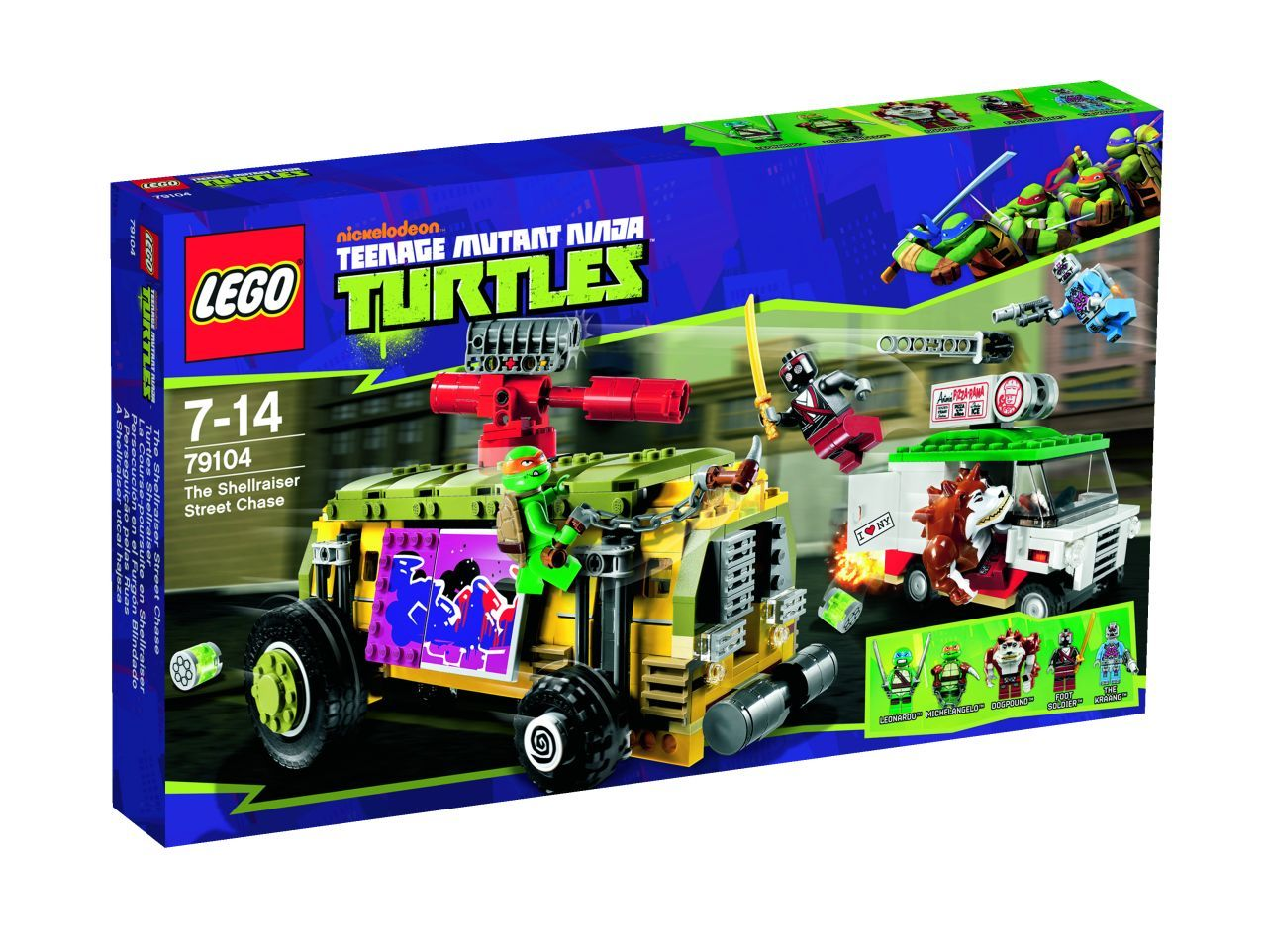 Lego Teenage Ninja Turtles Toys : Lego teenage mutant ninja turtles the toyark news