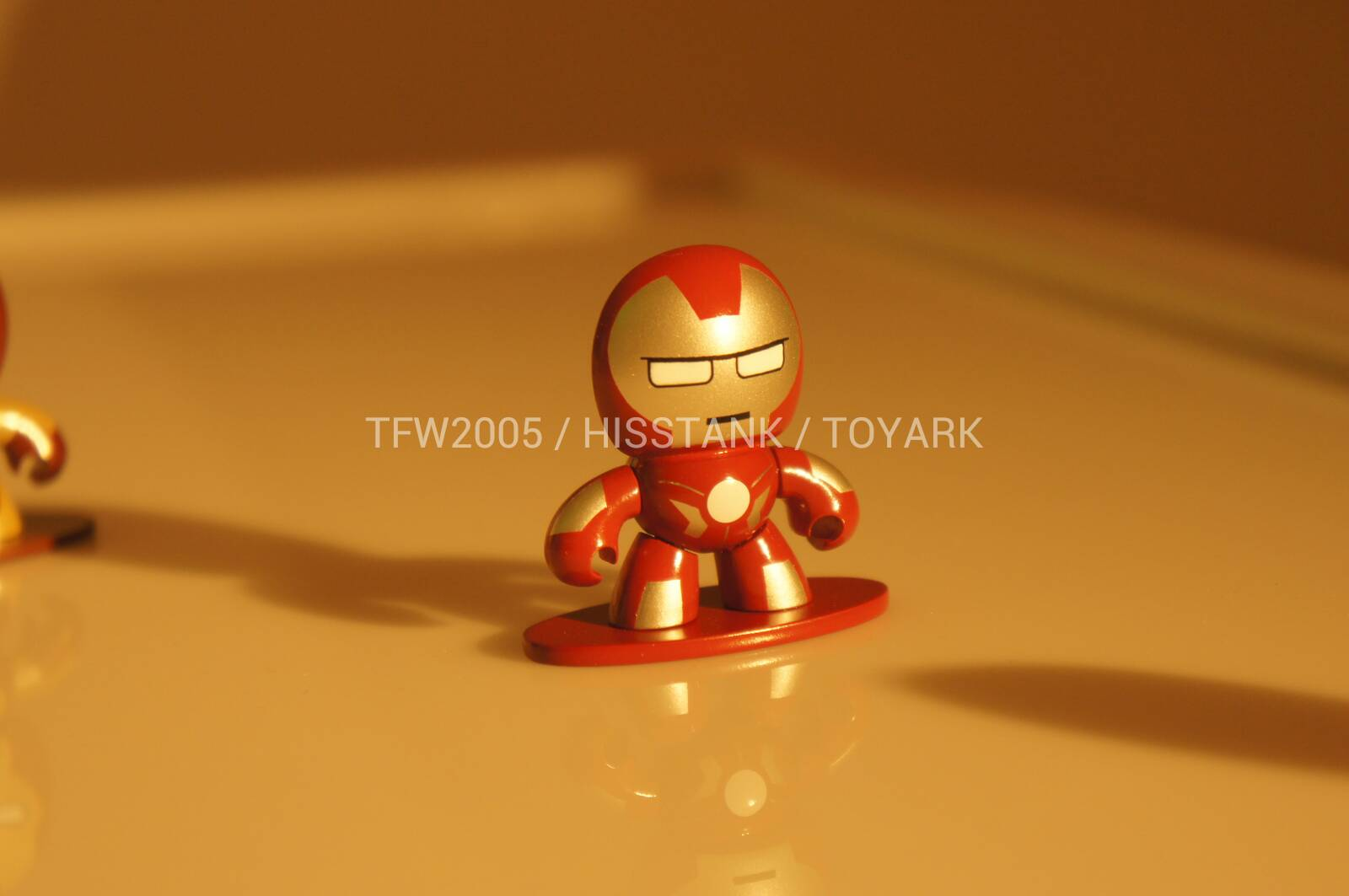 Nycc12 first iron man 3 figure the toyark news - Mini iron man ...