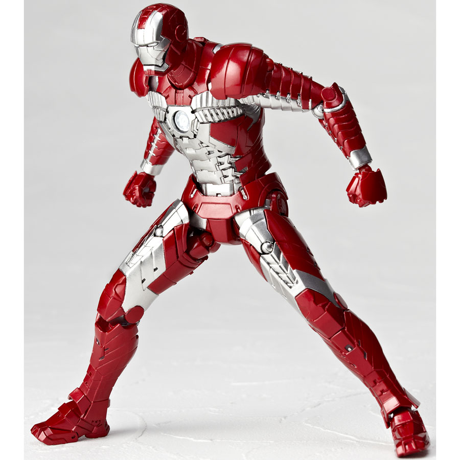 New Images For Revoltech Iron Man 2 Mark V Armor - The ...
