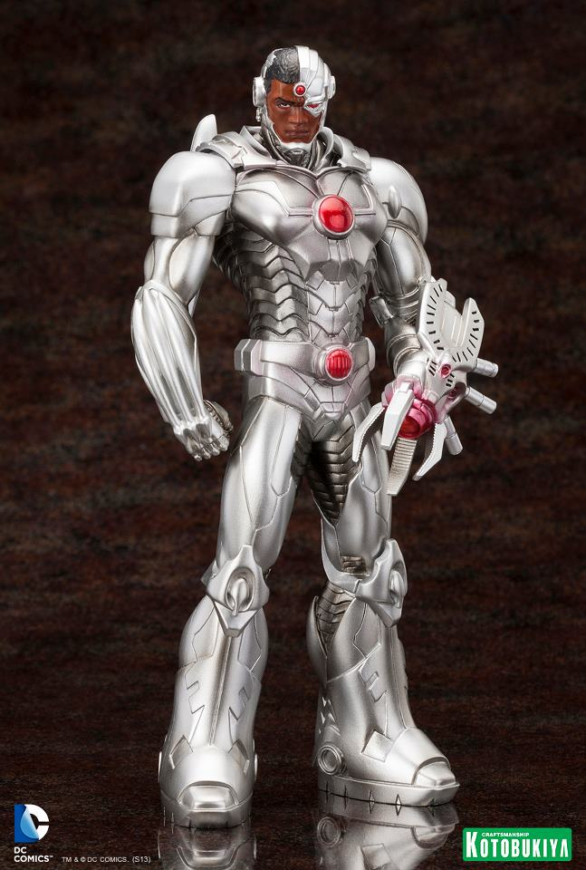 Justice-League-Cyborg-New-52-ARTFX-Statue-1