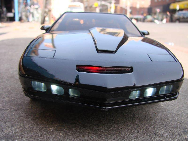 knight rider kitt electronic vehicle gallery the toyark news. Black Bedroom Furniture Sets. Home Design Ideas