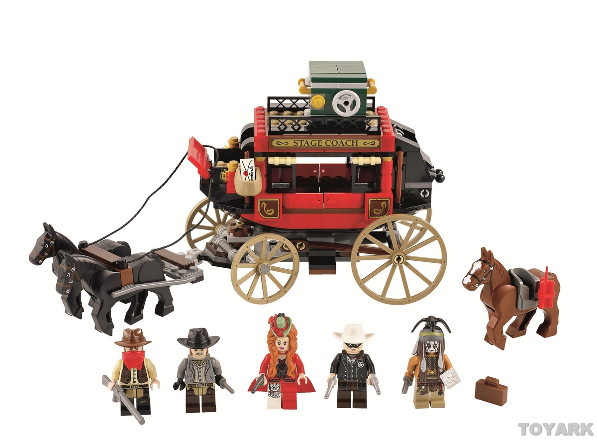 The lone ranger stagecoach escape lego toy fair 2013 the - Playmobil kutsche ...