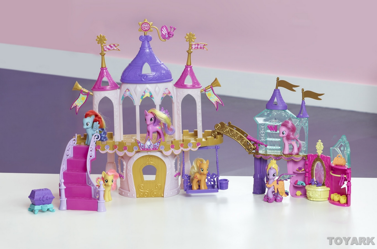 my little pony crystal princess palace toy fair 2013 hasbro the