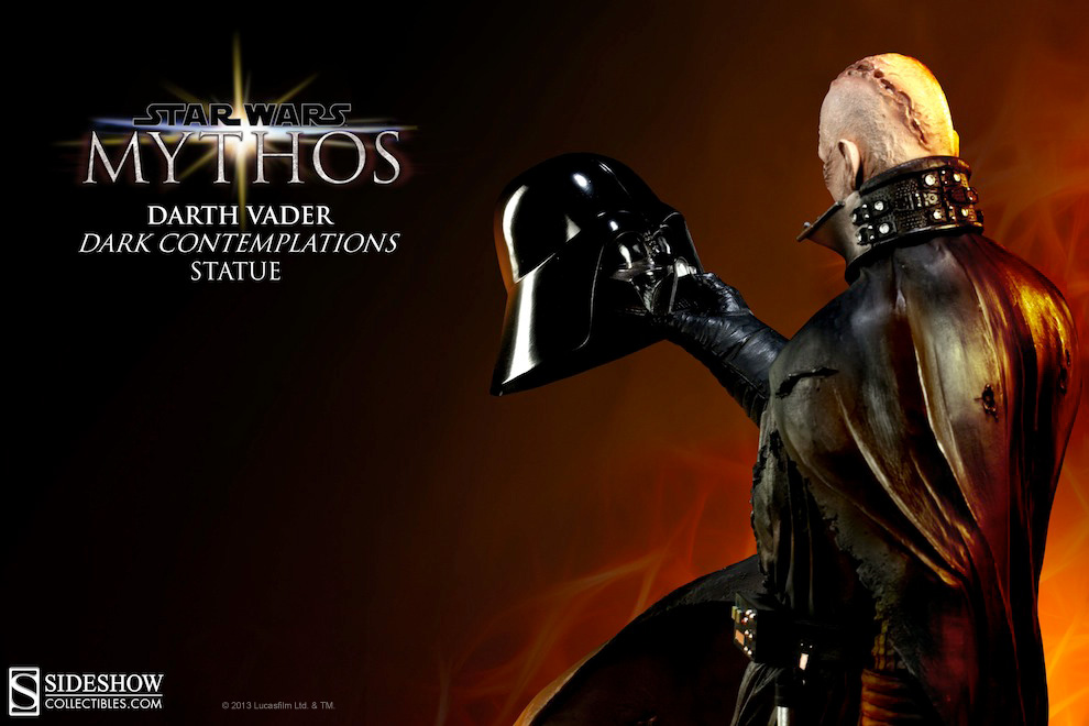 Preview of star wars mythos darth vader statue