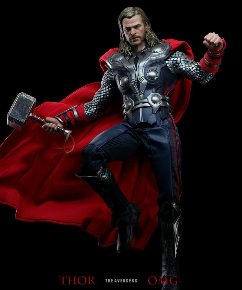 Hot Toys Avengers Movie Thor Final Product Photos
